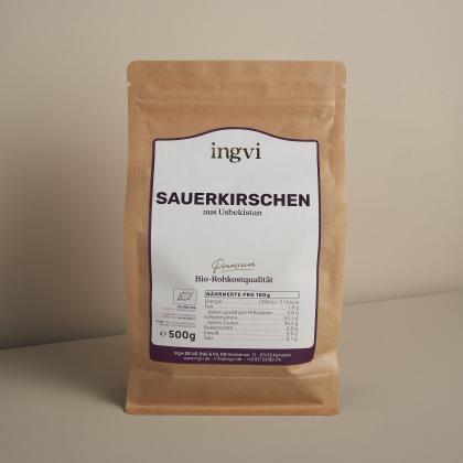 ingvi Sauerkirschen, Rohkostqualität, Bio 500g