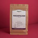 ingvi Maca-Pulver, Rohkostqualität, Bio, 500g