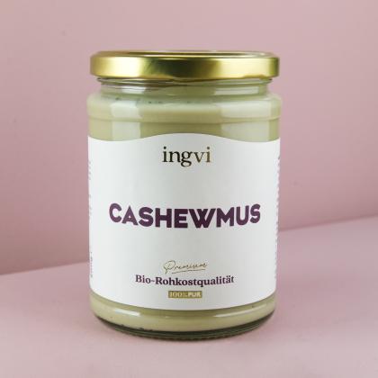 ingvi Cashewmus, Rohkostqualität, Bio