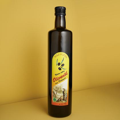 Olivenöl Wildwuchs, Rohkostqualität, Bio 0,75l